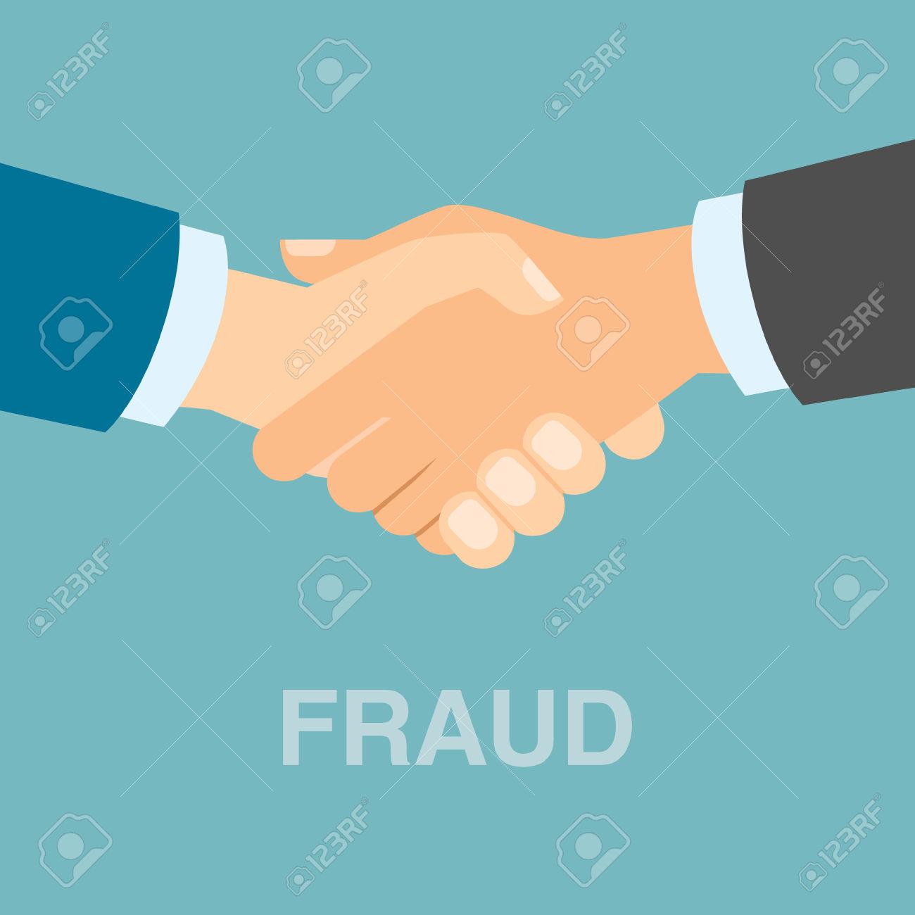 Bad fraud handshake.