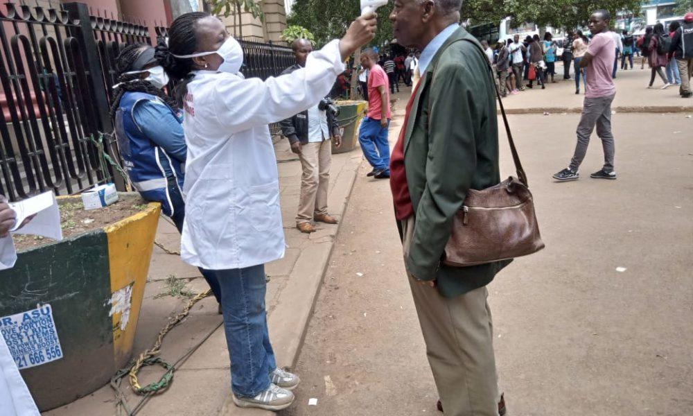 PHOTOS: Random Testing Of Coronavirus Starts In Nairobi
